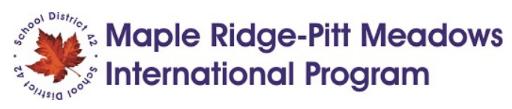 Maple Ridge & Pitt Meadows School district 42