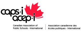Proud Sponsor of the Canadian Association of Public Schools International